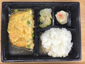 天津飯弁当2