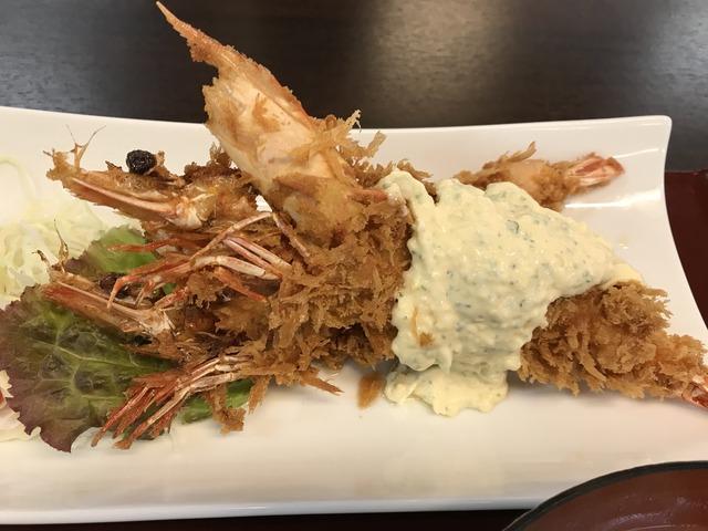 海老フライ定食1-2