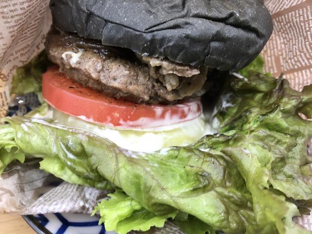 肉×肉バーガー1-1