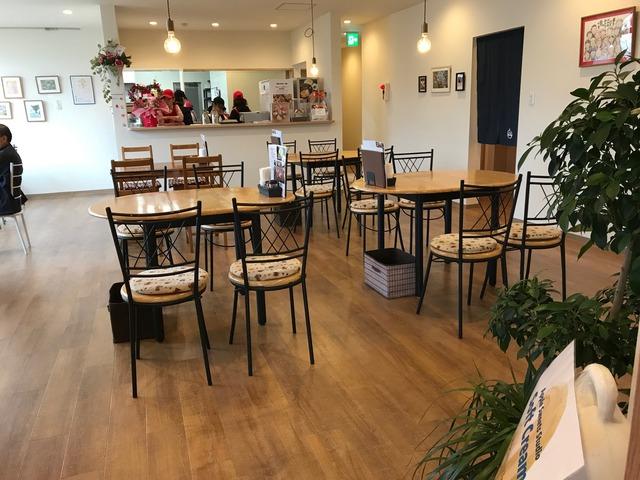 カフェ店内1