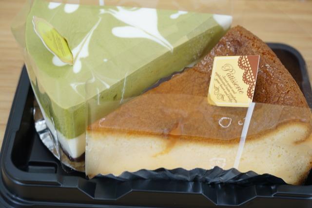 2種のチーズケーキセット