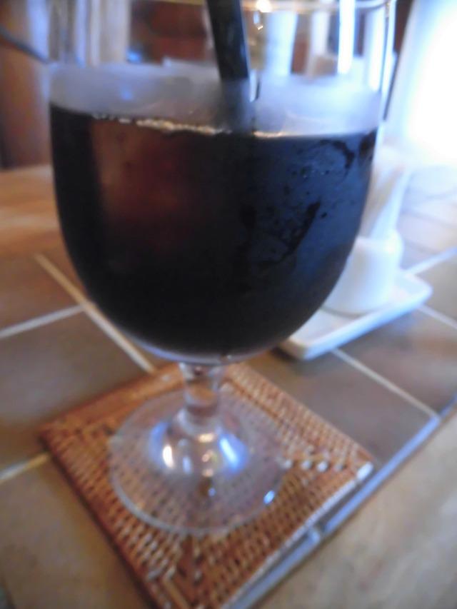 ウッドアイスコーヒー