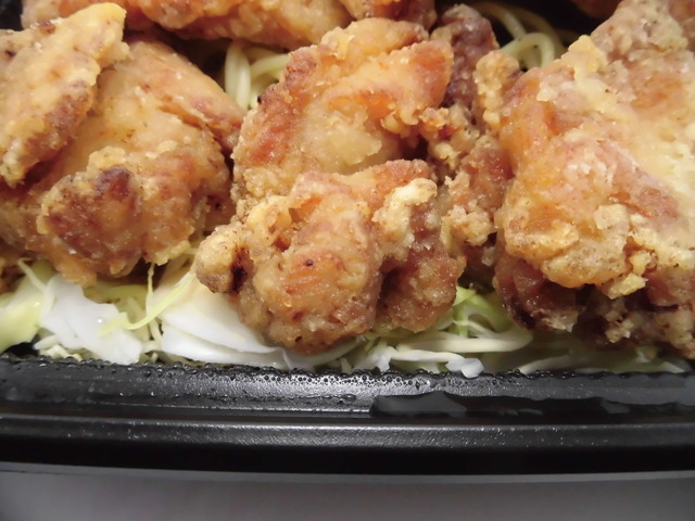 満足から揚げ弁当momo1