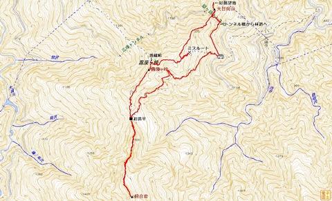 20131212前白岩・霧藻ヶ峰・大日向山