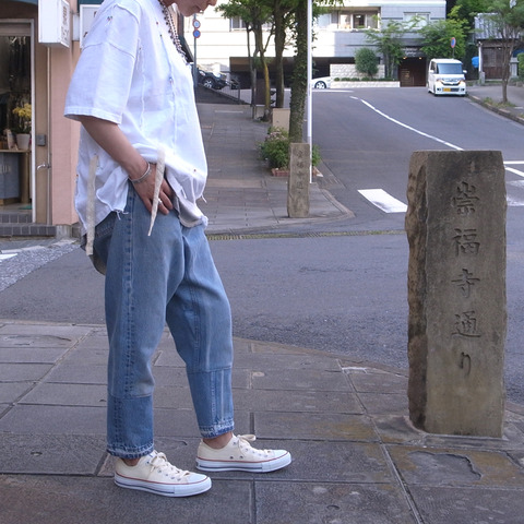 Working Class Heroes Remake Denim New Sarrouel Pants