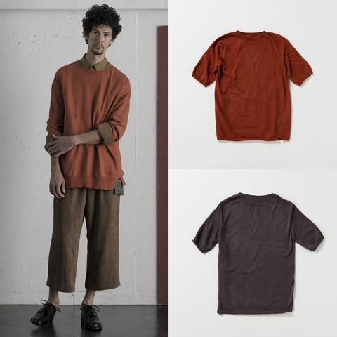 WEYEP Whole Garment S/S Knit