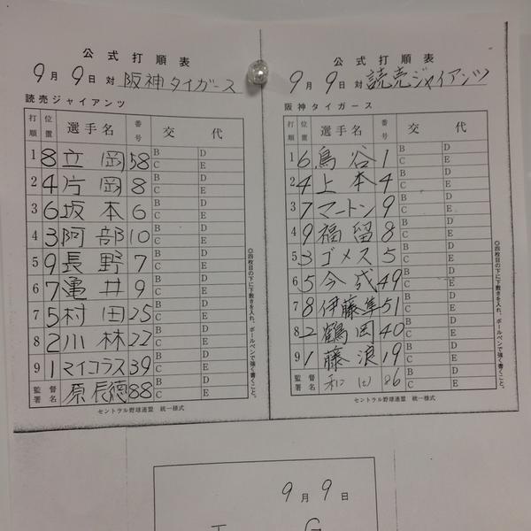 7 (中) 伊藤隼 0 0 0 0 .262 2 vs巨人 2015/09/09