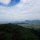 金刀比羅宮 奥社前から讃岐平野〜飯野山(讃岐富士)〜瀬戸大橋を望む