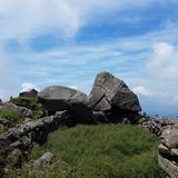 天狗岩(標高2000m)