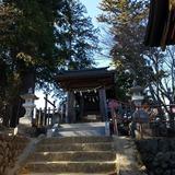 御岳山(標高929m)に鎮座する大口真神社