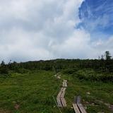 西吾妻山側から見た天狗岩