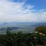 大麻山展望台から飯野山(讃岐富士)〜讃岐平野を望む
