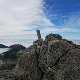 大汝山(標高3015m)