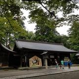 雄山神社 岩峅前立社壇 拝殿