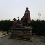 貫一お宮の像