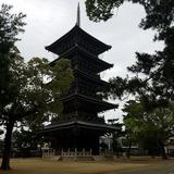 善通寺 東院(伽藍)五重塔