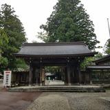 雄山神社 岩峅前立社壇 神門