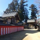 御岳山(標高929m)に鎮座する武蔵御嶽神社 本殿