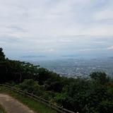 大麻山展望台から瀬戸内海〜丸亀市街を望む