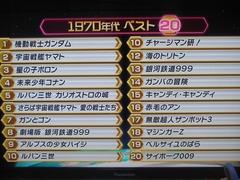 アニメ100 (70s)