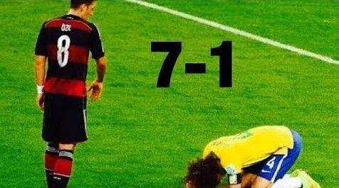 ミネイロンの惨劇(ドイツ7-1ブラジル)