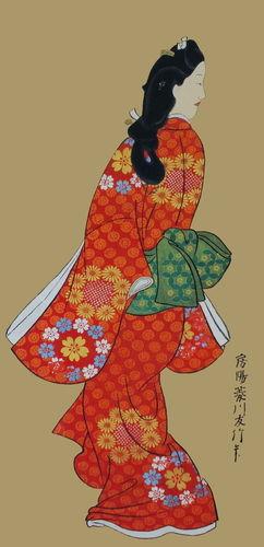 菱川師宣「見返り美人図」