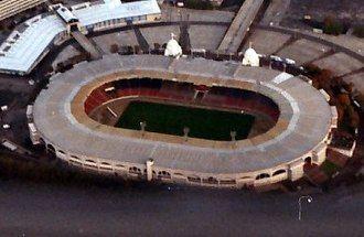 旧ウェンブリースタジアム空撮(1991年)