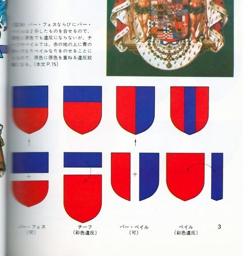 森護『西洋の紋章とデザイン』口絵3頁