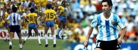背番号1のアルゼンチン代表アルディレス選手