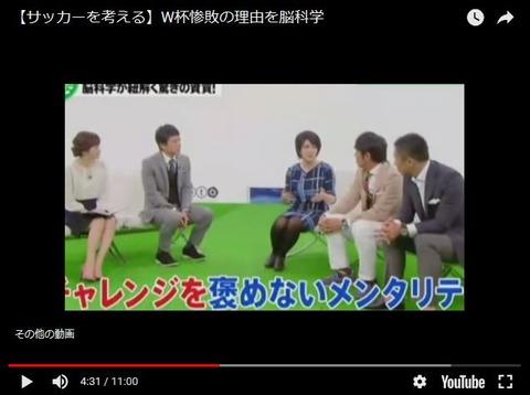 中野信子_サッカー_フットブレイン3