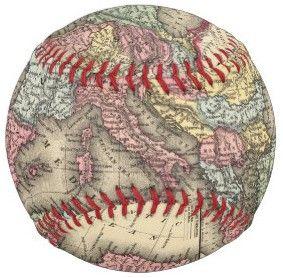 欧州地図_ベースボール