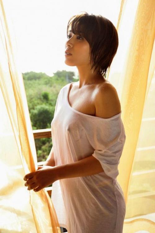 金子智美 水着まんすじDVDしめり。&透け乳首 ヌード 画像