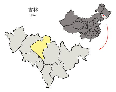 Location_of_Changchun_Prefecture_within_Jilin_(China)