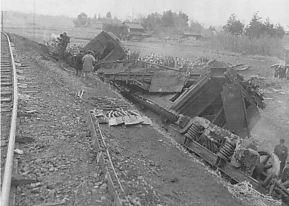 Hachiko_Line_Rail_Accident_in_1947