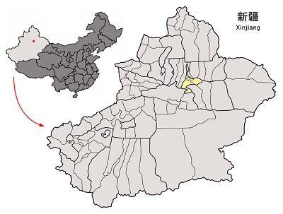 Location_of_Ürümqi_Prefecture_within_Xinjiang_(China)