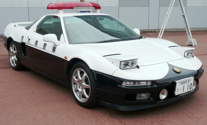 NSX-policecar