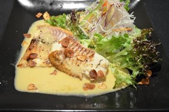 白身魚ステーキ