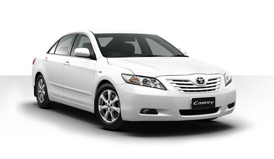 Toyota Camry White Side
