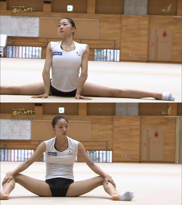 元新体操・畠山愛理さん、200度開脚で「透け下着グラビア」に熱烈オファー