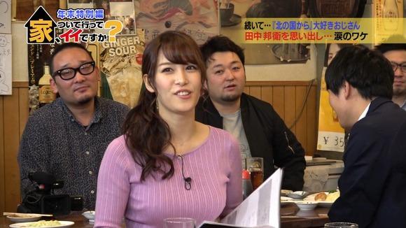 【画像、動画】テレ東の女子アナ、おっぱいがでかすぎる!