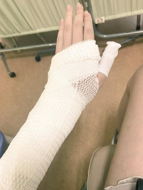 【画像】AV女優・橋本ありな、バッティングセンターで大怪我をする 表紙