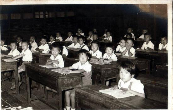 Bangkok classroom 1968