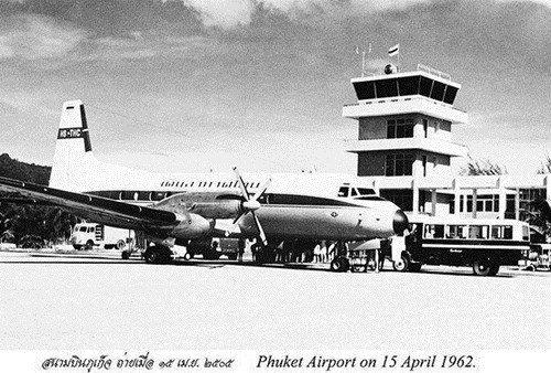 Phuket Airport 1962