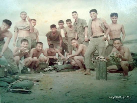 Royal Thai Army in Vietnam 1973