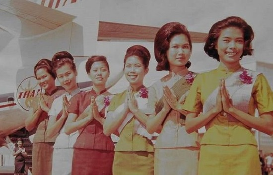 Thai Airways flight attendants 1968
