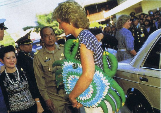 PrincessDiana in Chiang Mai 1988