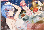 日本各地の温泉を美少女化するクロスメディアプロジェクト「温泉むすめ」イラスト展