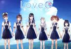 恋愛シミュレーションゲーム「LoveR(ラヴアール)」のポスター