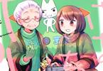 瀬野反人の漫画「おばあちゃんとゲーム」3巻