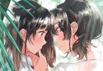 コミック百合姫3月号 表紙イラストはフライ